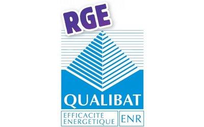 Certificat QUALIBAT RGE 2017
